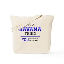 Cute Savana Tote Bag