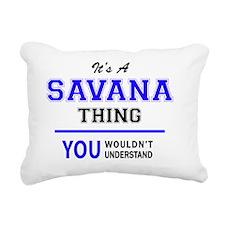 Savana Rectangular Canvas Pillow