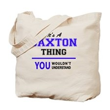 Cute Saxton Tote Bag
