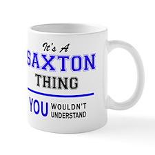 Cute Saxton Mug