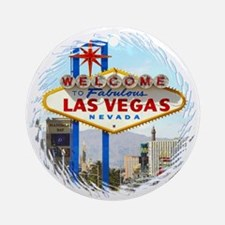 Las Vegas (day) Ornament (Round)