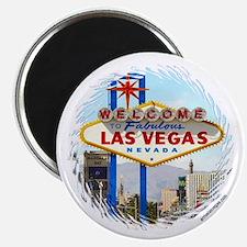 Las Vegas (day) Magnet