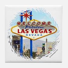 Las Vegas (day) Tile Coaster