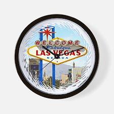 Las Vegas (day) Wall Clock