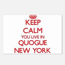 Keep calm you live in Quo Postcards (Package of 8)