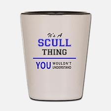 Cool Sculls Shot Glass