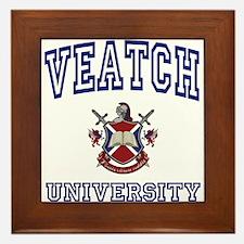 VEATCH University Framed Tile