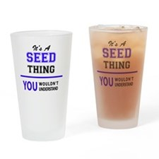 Unique Seeding Drinking Glass