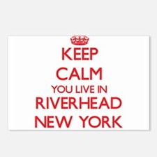 Keep calm you live in Riv Postcards (Package of 8)