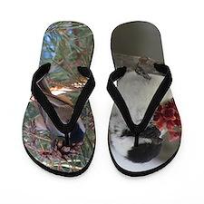 Chickadee Flip Flops