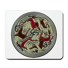 Celtic Deer Knotwork Mousepad