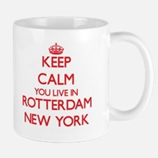 Keep calm you live in Rotterdam New York Mugs