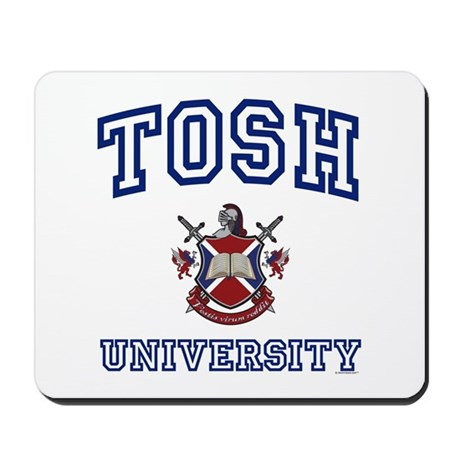TOSH University Mousepad