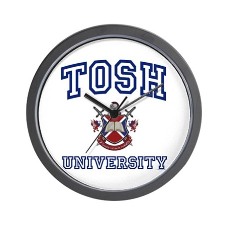 TOSH University Wall Clock