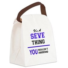 Cute Seve Canvas Lunch Bag