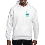 True Blue Delaware LIBERAL Hooded Sweatshirt