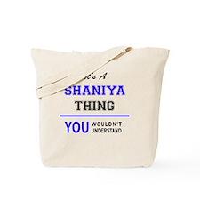 Cute Shaniya Tote Bag