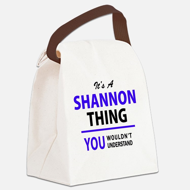 Cute Shannon Canvas Lunch Bag