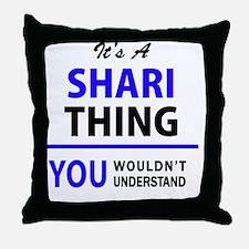 Cute Shari Throw Pillow