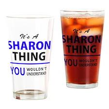 Cute Sharon Drinking Glass