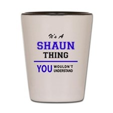 Cute Shaun Shot Glass