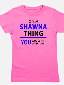 Unique Shawna Girl's Tee