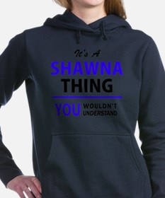 Cute Shawna Women's Hooded Sweatshirt