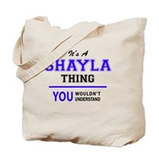 Cute Shayla Tote Bag
