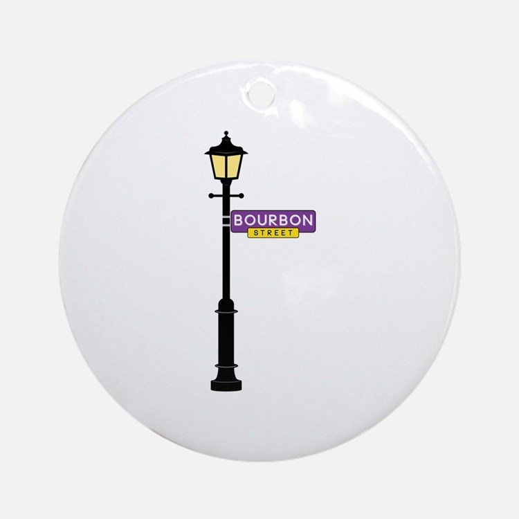 Bourbon Street Ornament (Round)