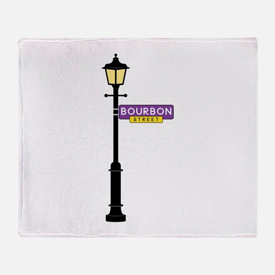 Bourbon Street Throw Blanket
