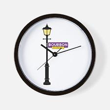 Bourbon Street Wall Clock