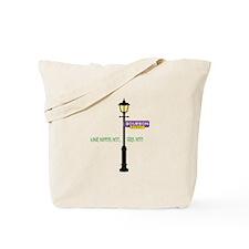 Stays Here Tote Bag