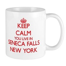 Keep calm you live in Seneca Falls New York Mugs