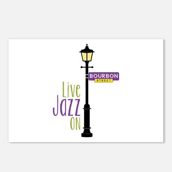 Live Jazz Postcards (Package of 8)