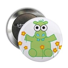 Hippo Hugs Button