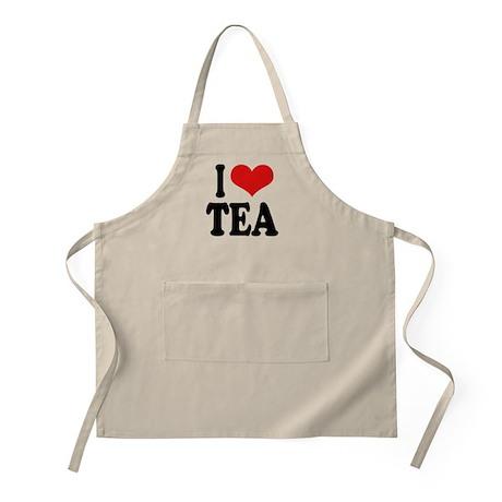 I Love Tea BBQ Apron