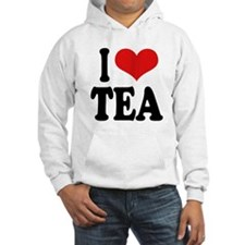 I Love Tea Jumper Hoody