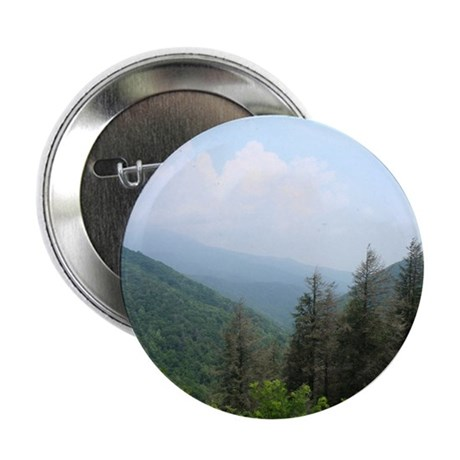 "Blue Ridge Trees 2.25"" Button (100 pack)"