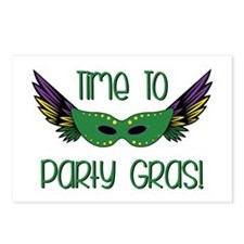 Party Gras Postcards (Package of 8)