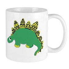 Yellow Mud Dino Mug