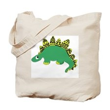 Yellow Mud Dino Tote Bag