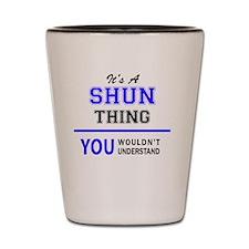 Cute Shun Shot Glass