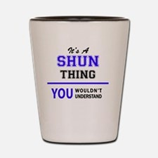 Cool Shun Shot Glass