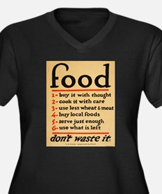 Food poster Plus Size T-Shirt