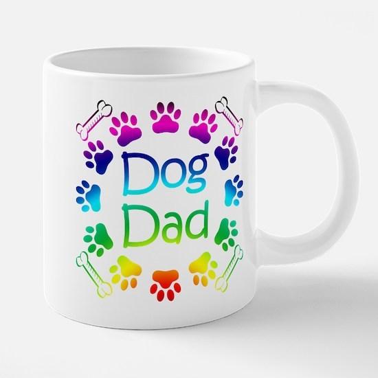 """""""Dog Dad"""" Mugs"""