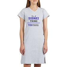 Cute Sidney Women's Nightshirt