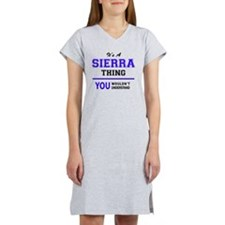 Cute Sierra Women's Nightshirt