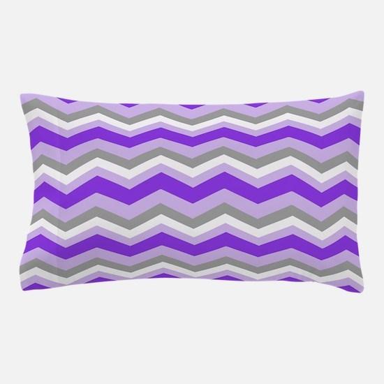 purple chevron bedding cafepress