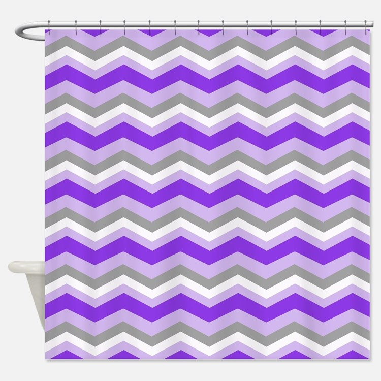 purple and gray shower curtains purple and gray fabric