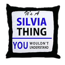 Cute Silvia Throw Pillow